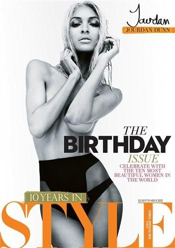 Sunday Times Style Magazine 10th Anniversary September 2012 10 Covers (Sunday Times Style Magazine)