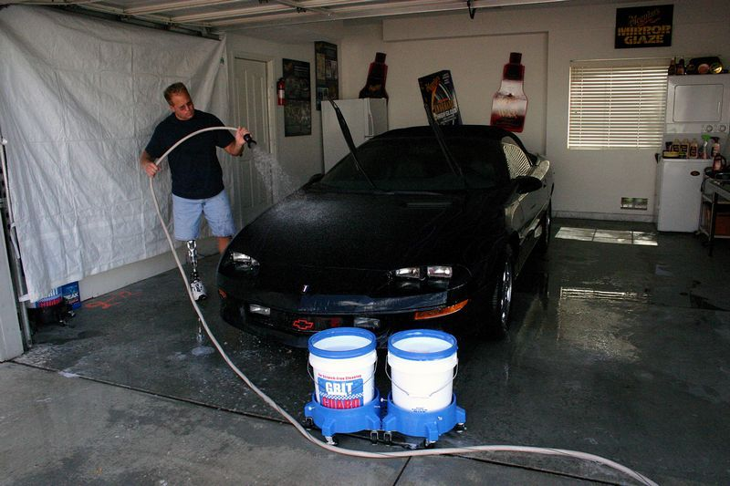 Washing Cars Inside of Your Garage Auto Geek Online Auto
