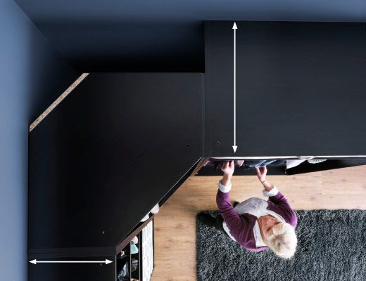 ikea work with your corners general decor in 2019. Black Bedroom Furniture Sets. Home Design Ideas