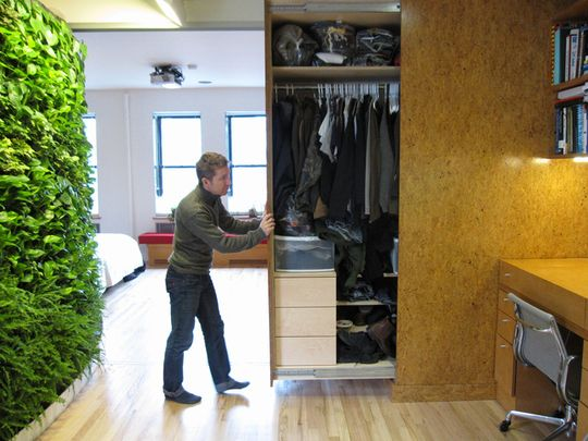 15 Hideaway Storage Ideas For Small Spaces Clothes Storage