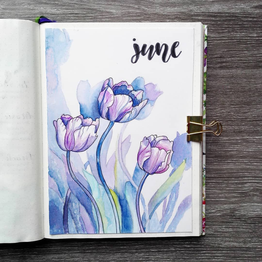 19 Monthly Cover Pages To Beautify Your Bullet Journal Bullet