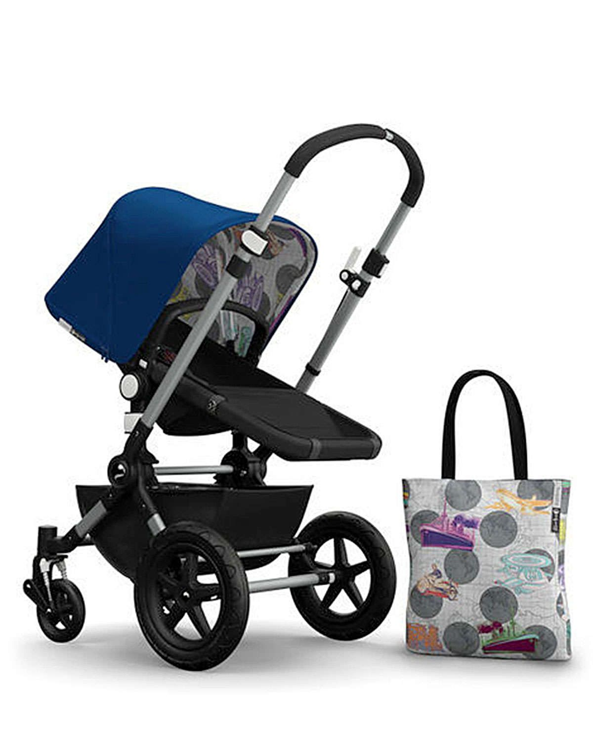 Bugaboo Andy Warhol Cameleon 3 Tailored Fabric Set, Blue