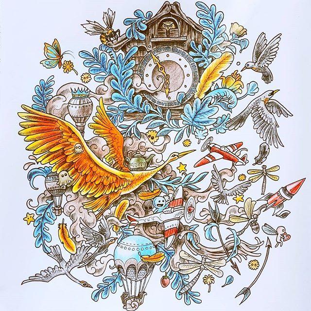 imagimorphia #animorphia #coloring #coloringforadults #coloringbook ...