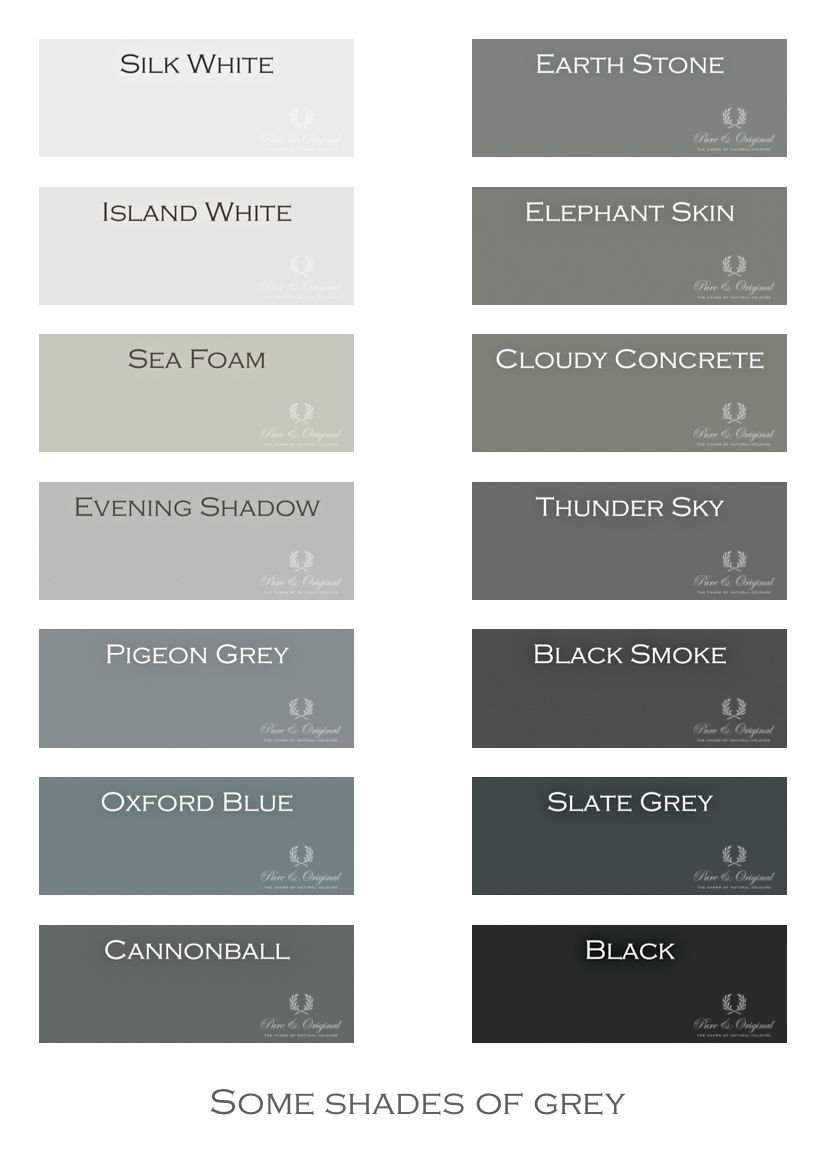 I love gray shades of grey chalk paint lime paint for What colors match with grey