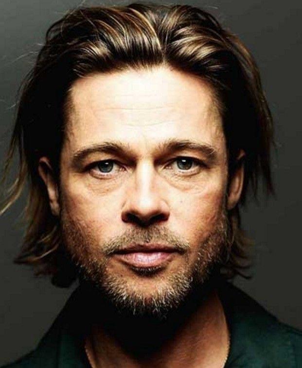 Brad Pitt Uzun Sac Modelleri Uzun Sacli Erkek Erkek Sac