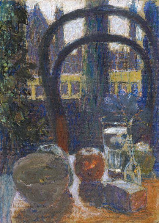 Theo Kurpershoek (1914-1998) Stilleven met stoel