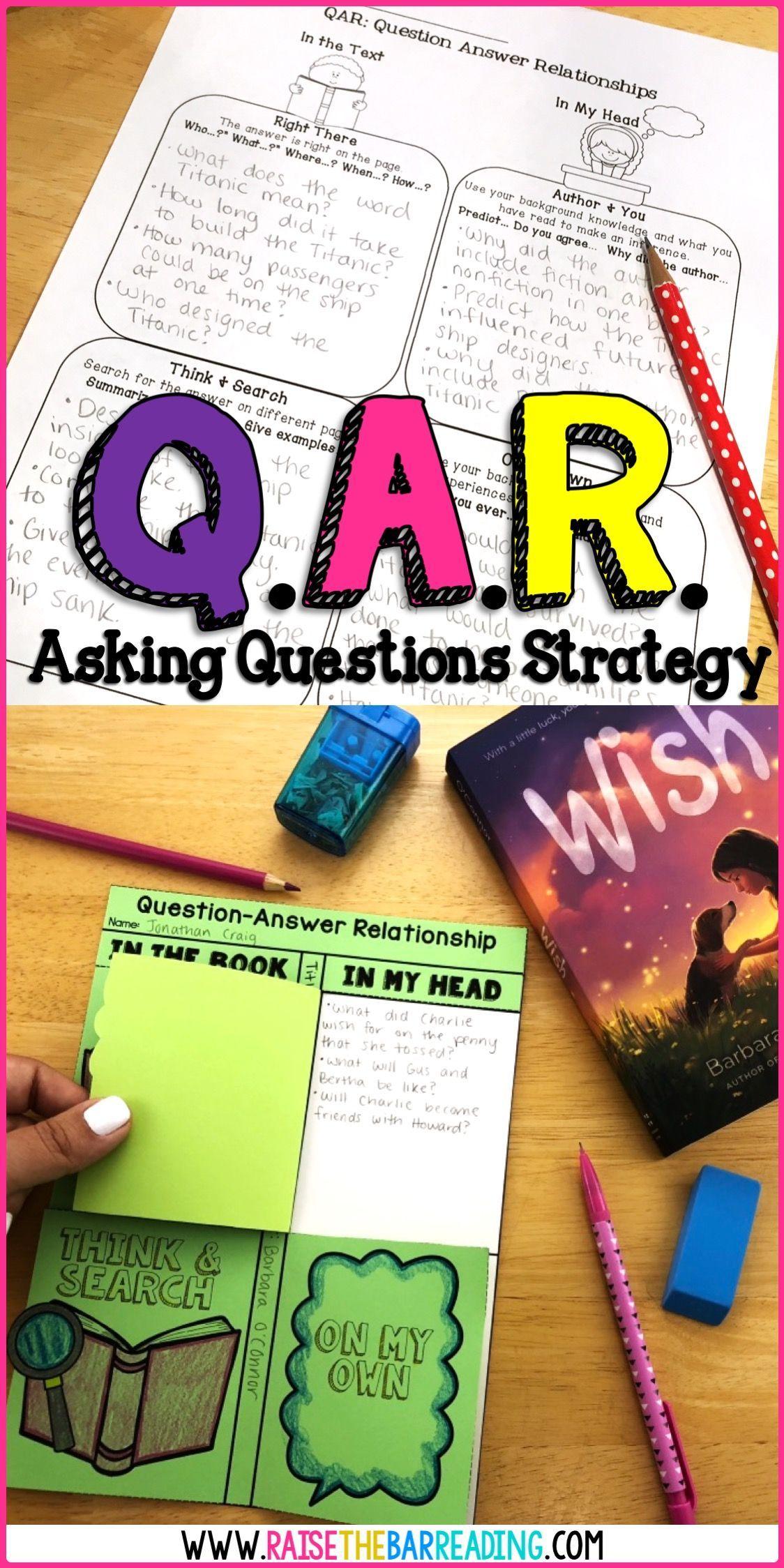 Teaching Reading Comprehension Strategies Asking