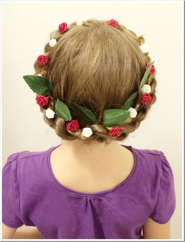 Christmas Hairstyles For Girls.20 Easy Christmas Hairstyles For Little Girls Hair