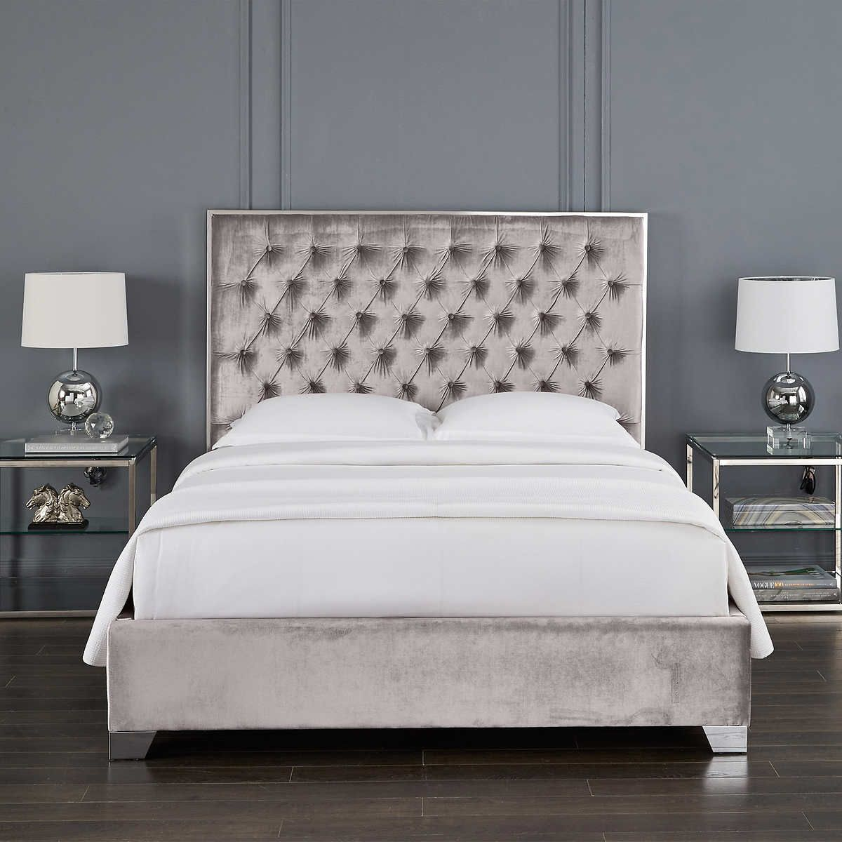 Cali Upholstered Bed Upholstered Beds Luxurious Bedrooms