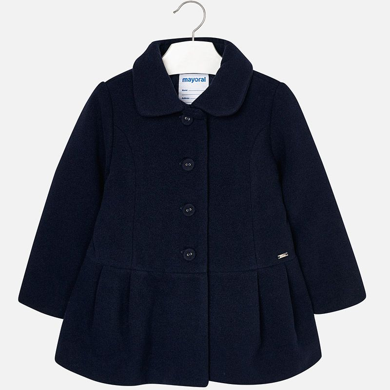 b9249442f2a43b Mouflon coat for girl Navy blue | Clothes for my Kids | Coat, Blue ...
