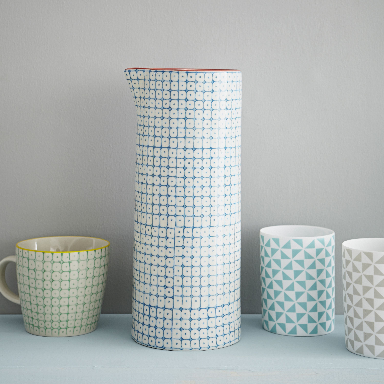 home goods decorative vases.htm printed ceramic vase and cups www rigbyandmac com  printed ceramic vase and cups