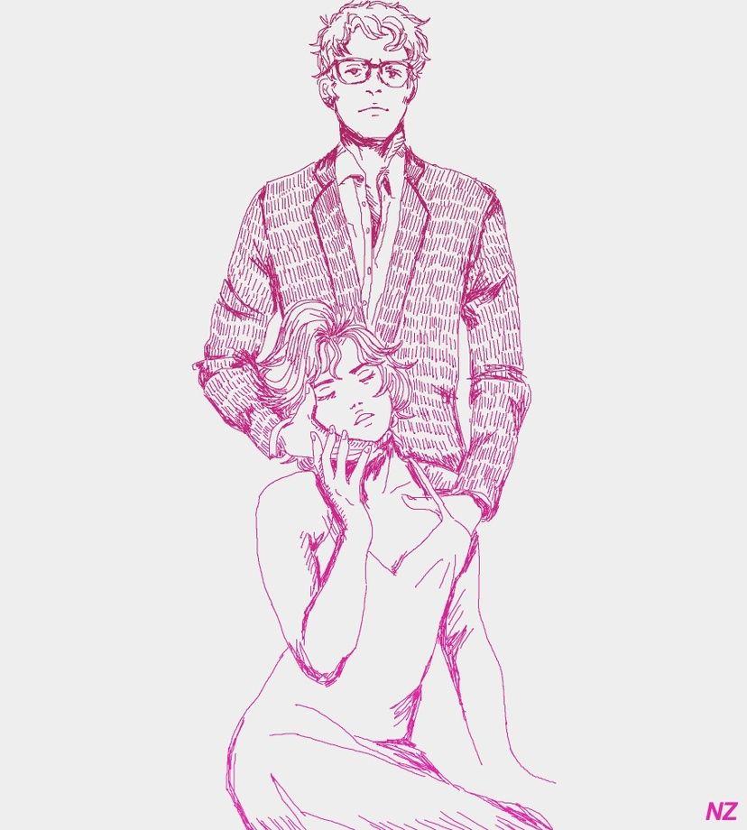 you sure you wanna be with me?, an art print by Natalia Zamarripa - INPRNT