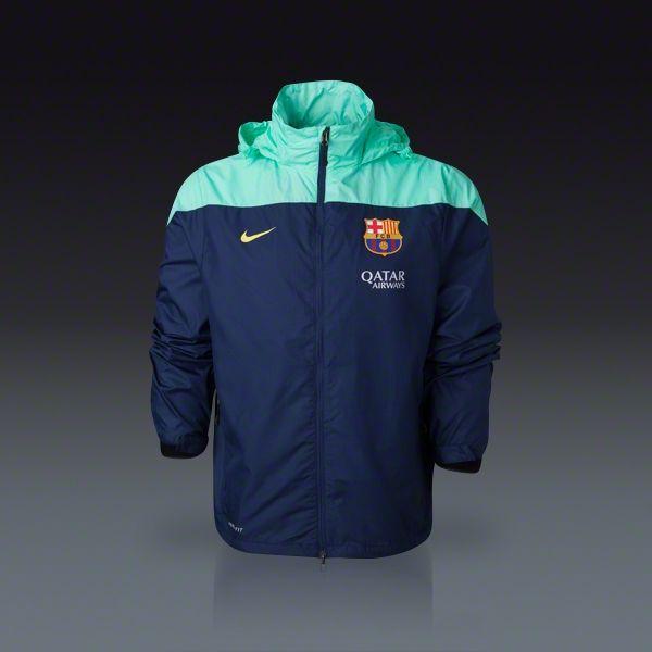 Nike Barcelona Squad Rain Jacket 13/14