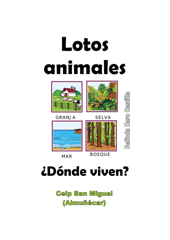 Donde viven los animales bhc los animales vertebrados - Donde viven los acaros ...