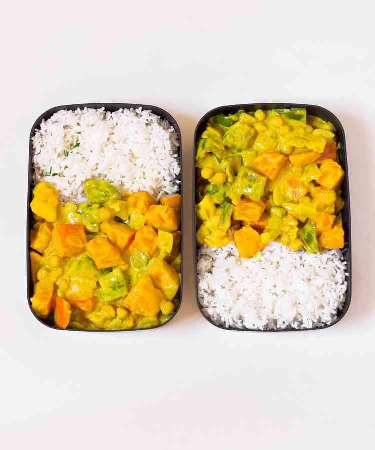 Pumpkin Chickpea Curry Vegan Meal Prep Recipe Vegan Meal Prep Chickpea Curry Vegan Recipes