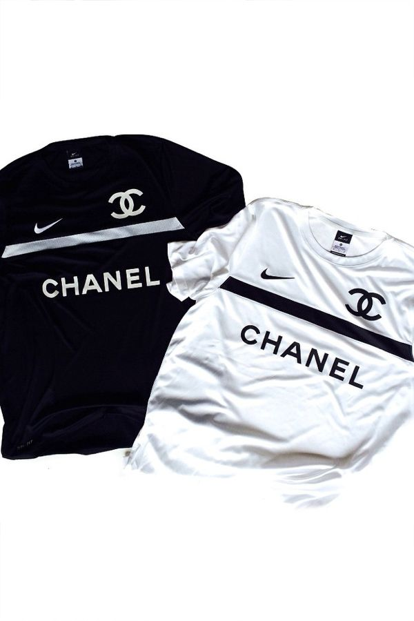 e38b07ed Chanel x Nike x Football Jersey | Get that on me. in 2019 | Chanel ...