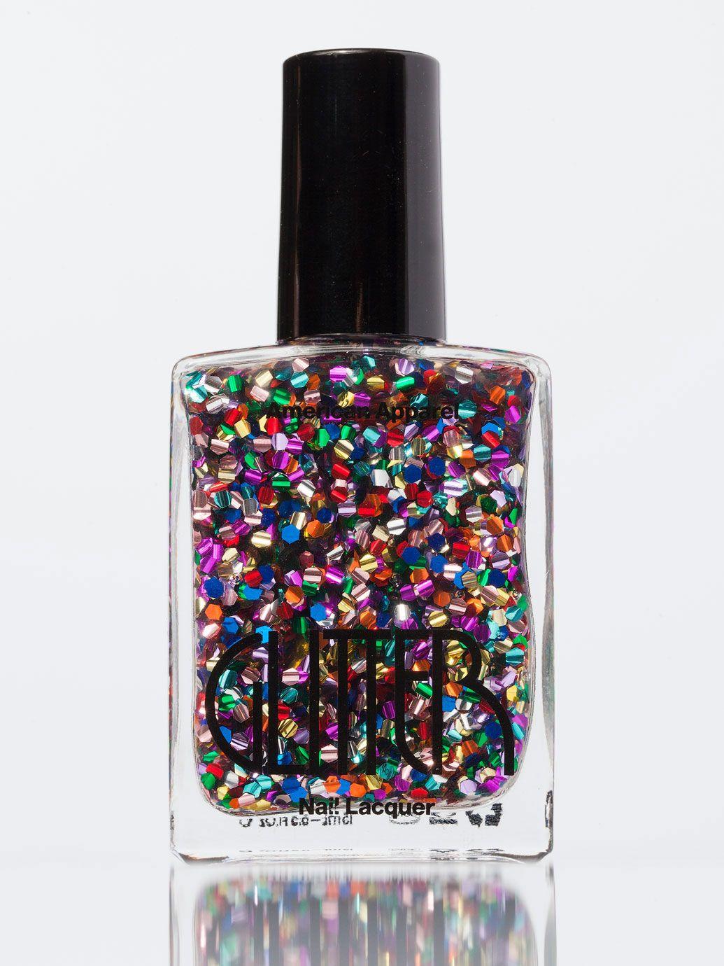 Vernis à ongles à paillettes | Boutique en ligne American Apparel