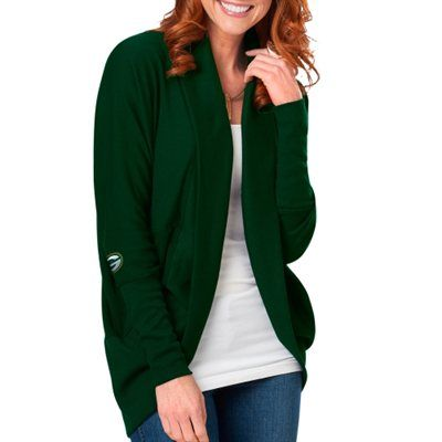 Meesh & Mia Green Bay Packers Women's Circular Cardigan - Green