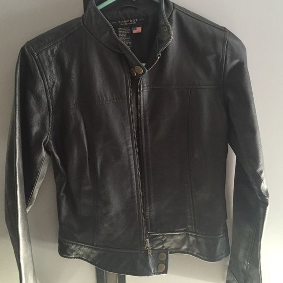 Rampage 100 Black Leather Jacket My Posh Shared Items Pinterest