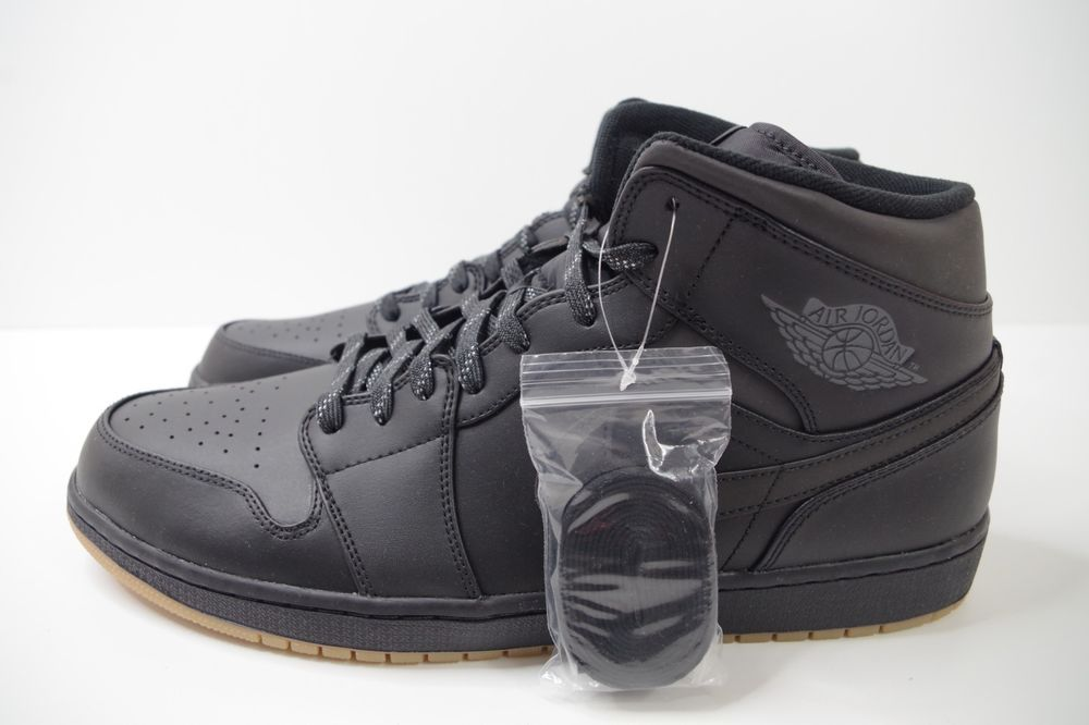 AIR JORDAN 1 MID WINTERIZED BLACK SIZE UK 15 US 16 EUR 50.5 AA3992 002  WINTER  fashion  clothing  shoes  accessories  mensshoes  athleticshoes  (ebay link) 889773cef
