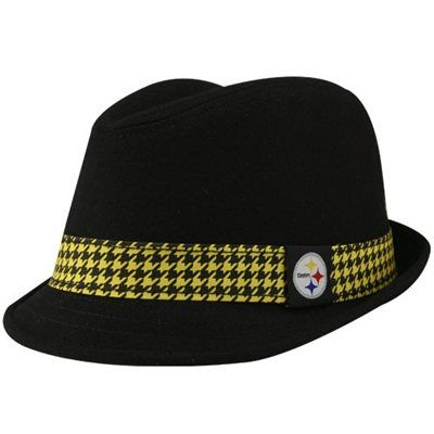 timeless design 6965f 4a46c Reebok Pittsburgh Steelers Black Wade Fedora Hat | hats ...