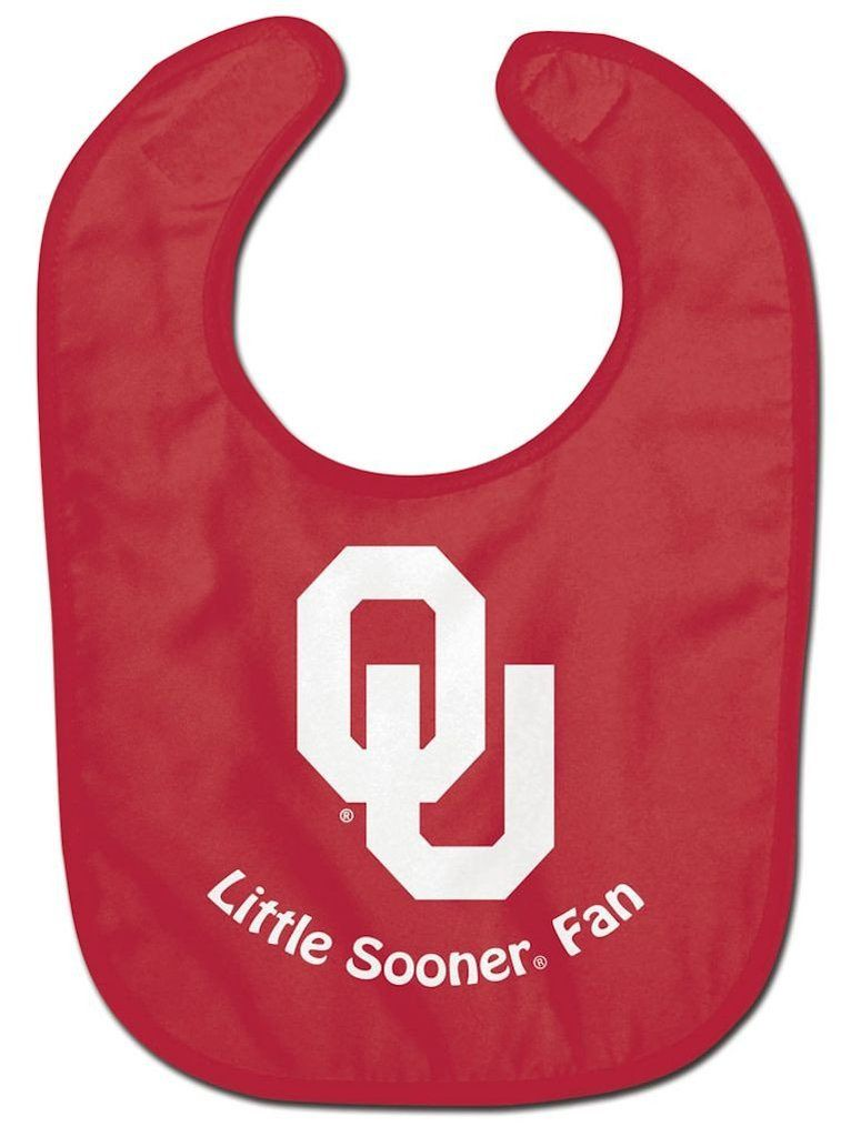 e737ffce Oklahoma Sooners Baby Bib All Pro Style | Oklahoma Sooners | Baby ...