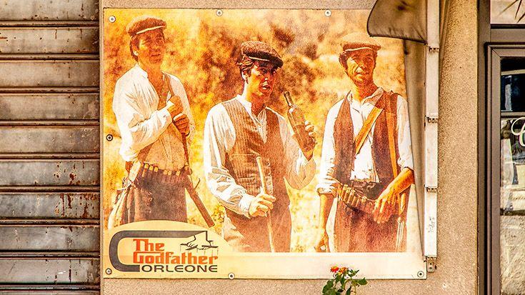 Il Padrino come spazio pubblicitario a Corleone