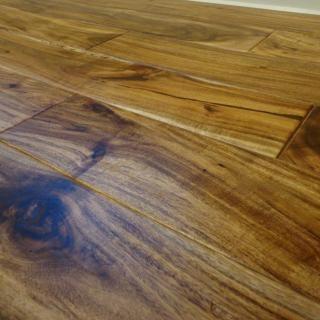 Acacia Natural 9 16 X 4 3 4 Hand Scraped Small Leaf Hardwood Flooring Hardwood Flooring Hardwood Floors