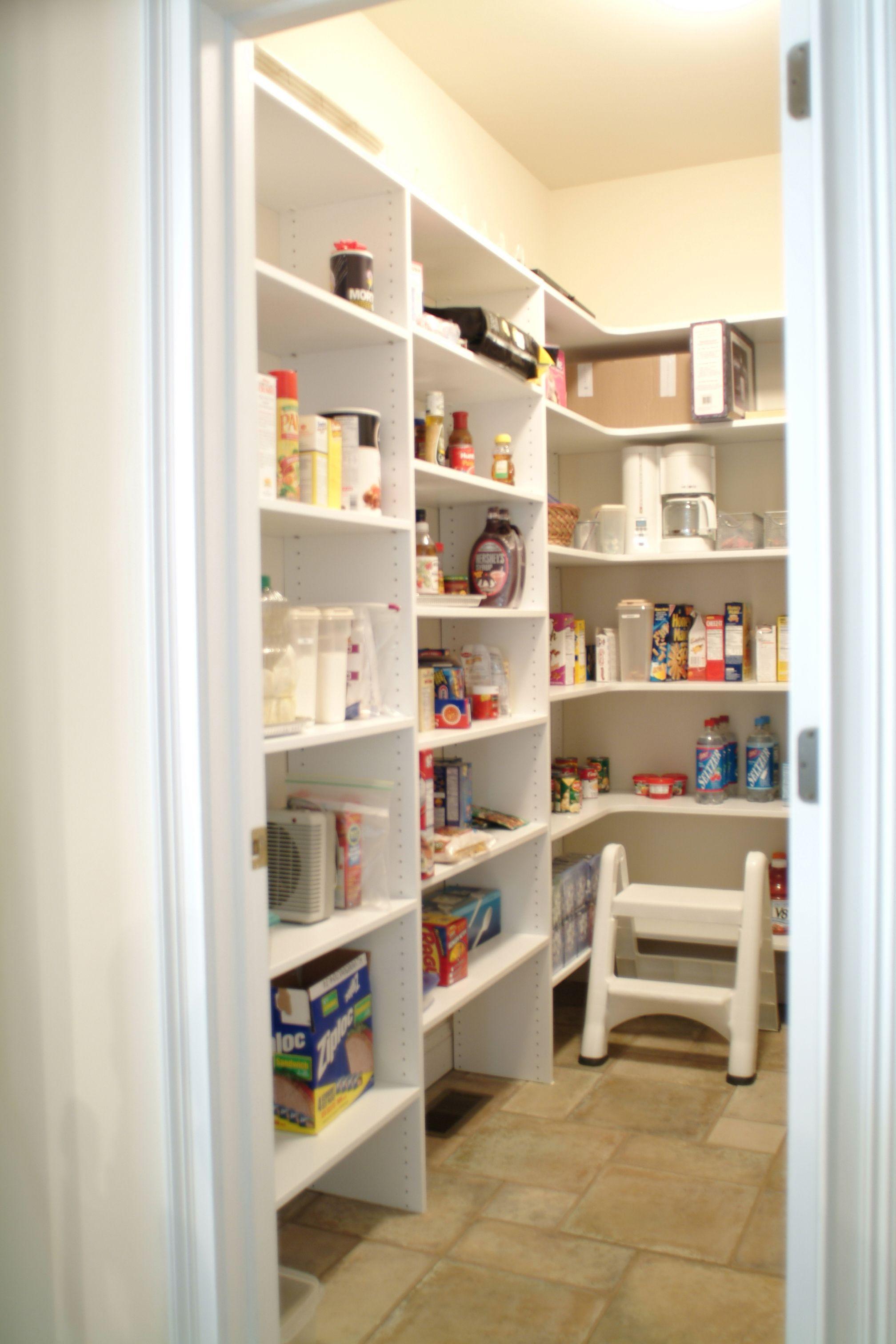 Custom Pantry Design | The Closet Works Inc. | The Closet Works Inc.