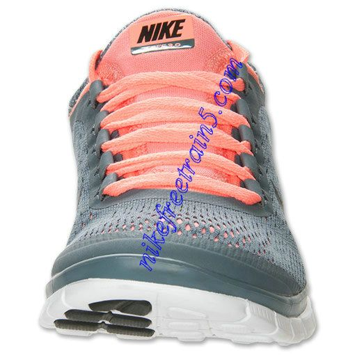 the best attitude d3b0c c7601 Womens Nike Free 3.0 V5 Running Shoes Armory Slate Black Atomic Pink 580392  406
