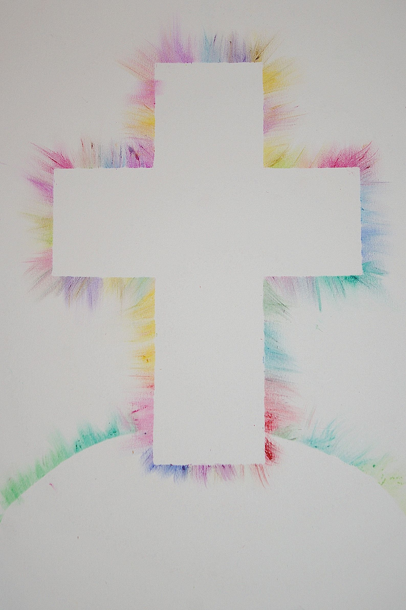 Radiant Cross Art Project Easter Crafts Christian Sunday School Crafts Easter Christian