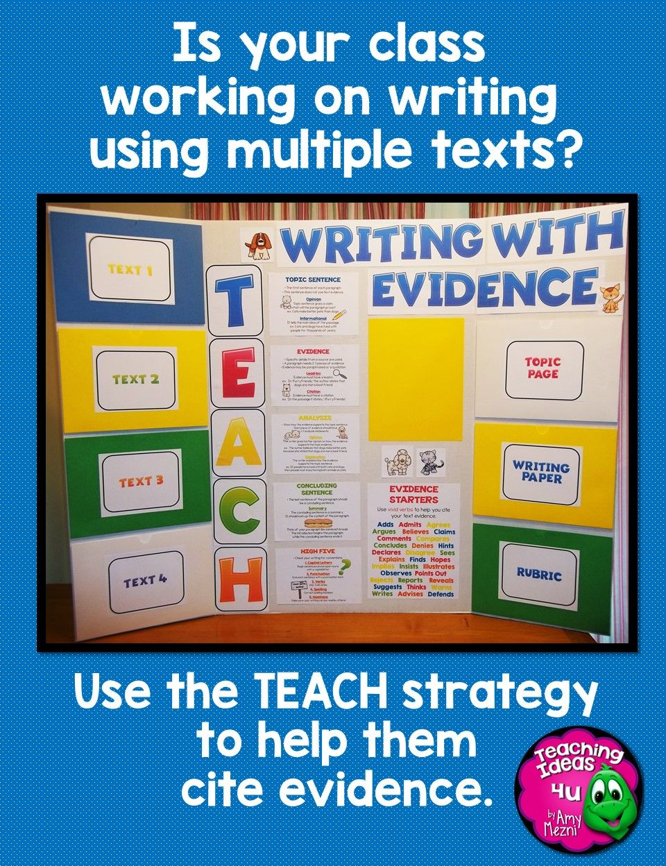 the use of textual evidence in classrooms This espark video supports common core standard 4ri8: explain how an author uses reasons and evidence to support particular points in a text.