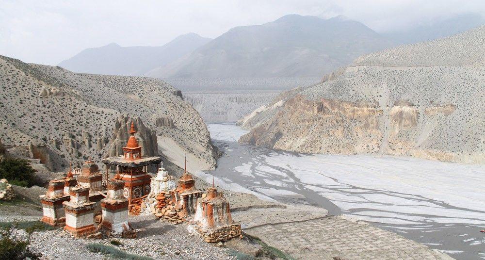 Estupas en Nepal