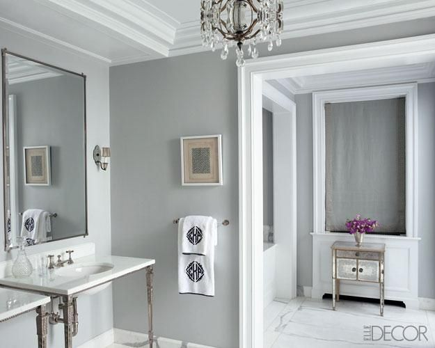 Warm Gray Bathroom Color - Colors For Bedroom At Apartment | Bathroom Wall Colors, Gray Painted Walls, Bathroom Paint Colors