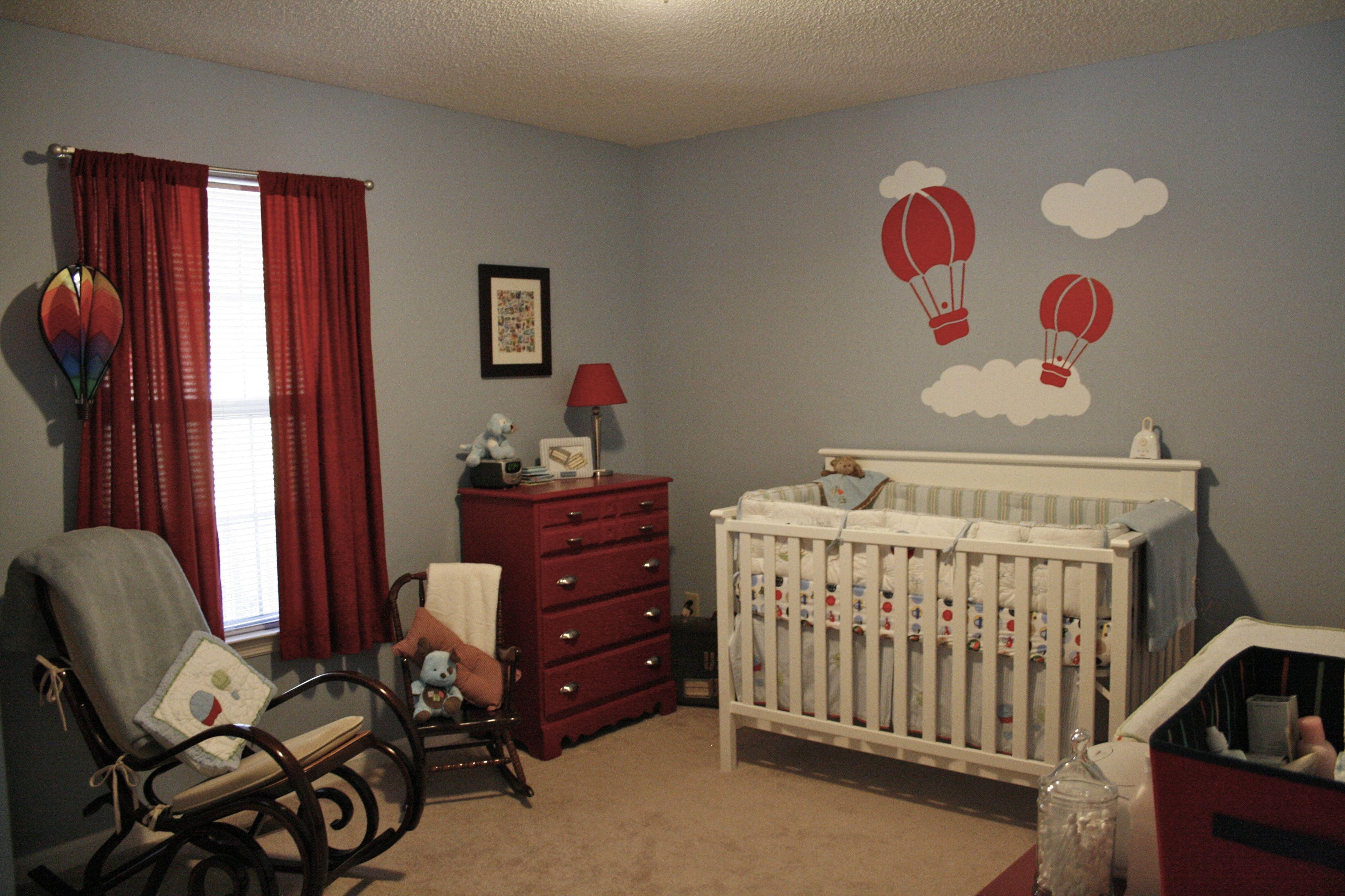 Hot Air balloon nursery Hot air balloon nursery, Nursery