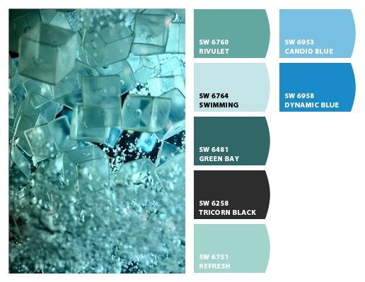 Paint Colors From Chip It By Sherwin Williams Aqua Paint Blue Green Paints Beach Themes