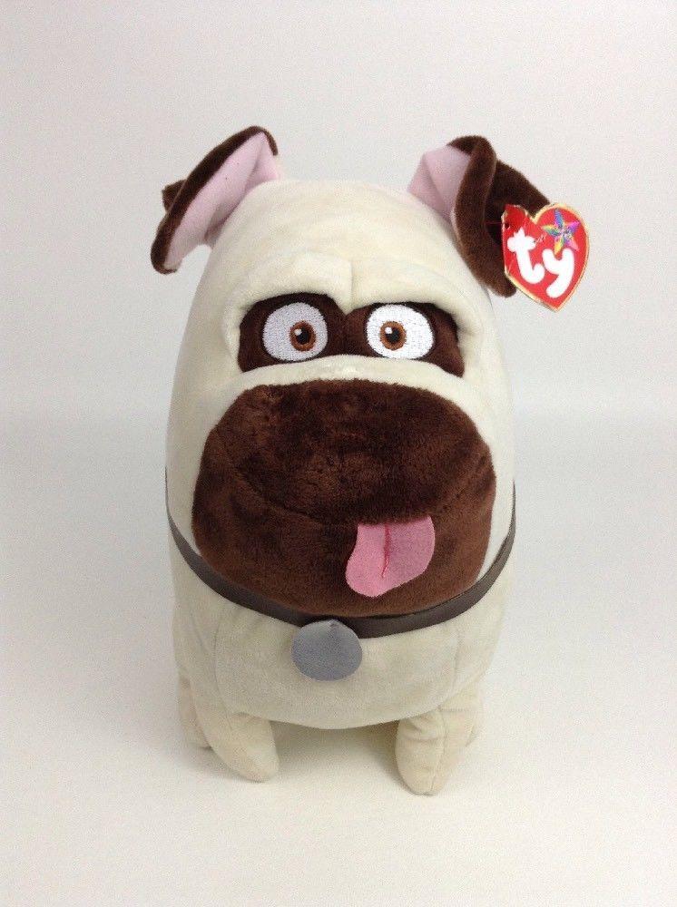 30cc758fdbd Ty Beanie Buddy Secret Life of Pets Mel the Dog Plush Stuffed Toy TAGS  Ty