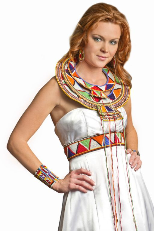 Dress fashion design with necklace