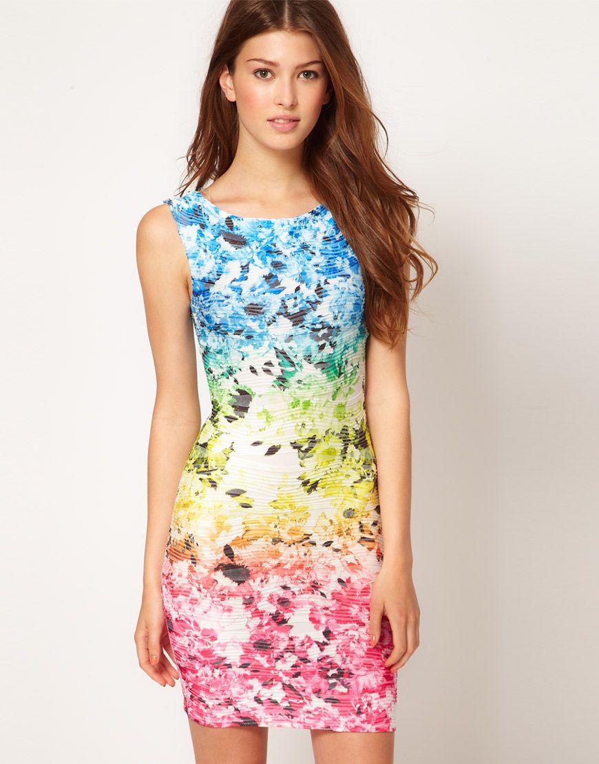 Multicolor floral dress wish list pinterest lipsy flower