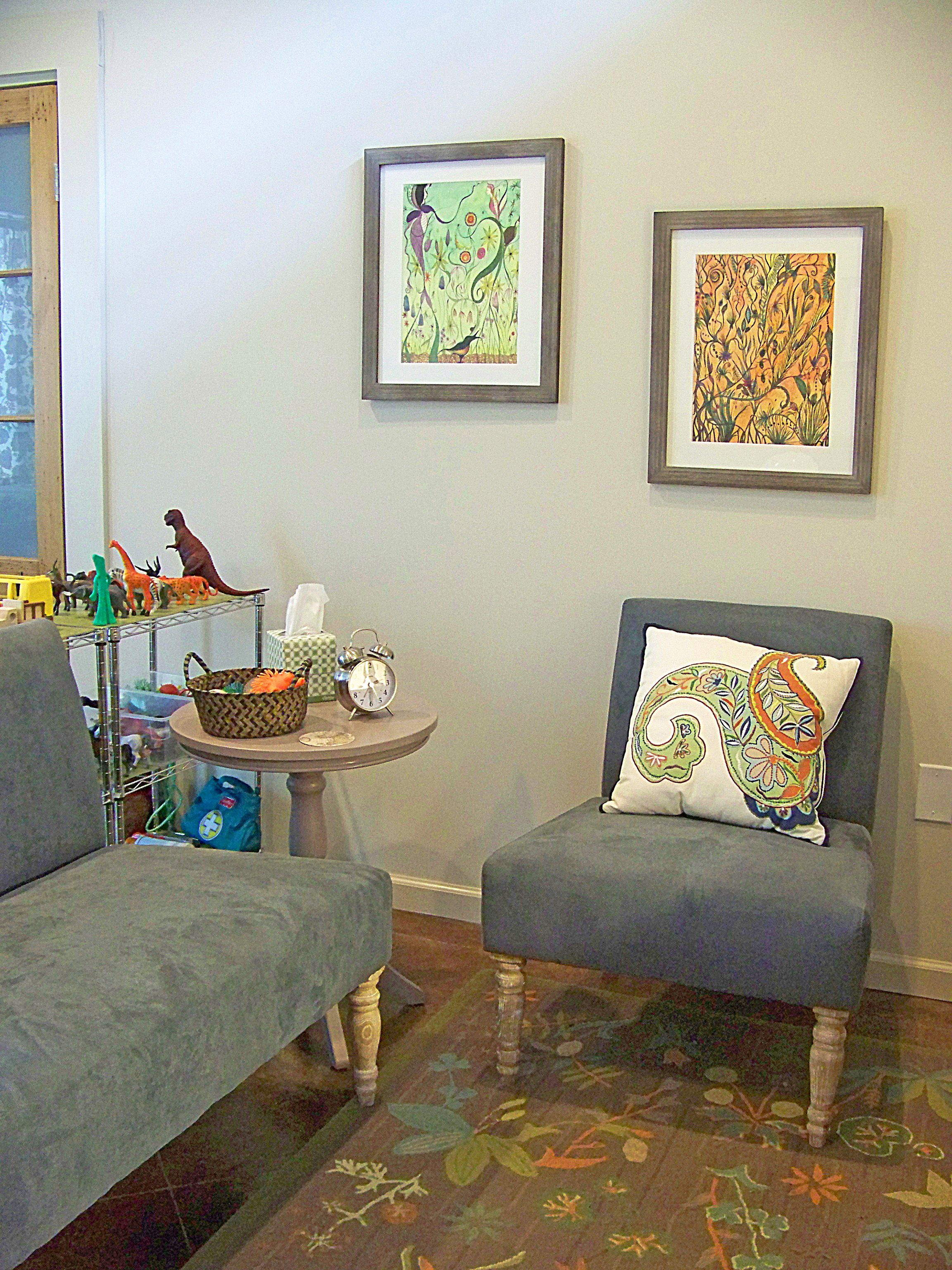 Counseling Office Kid Friendly This Would Be Great If: Half Play Therapy Playroom And Other Half Parent