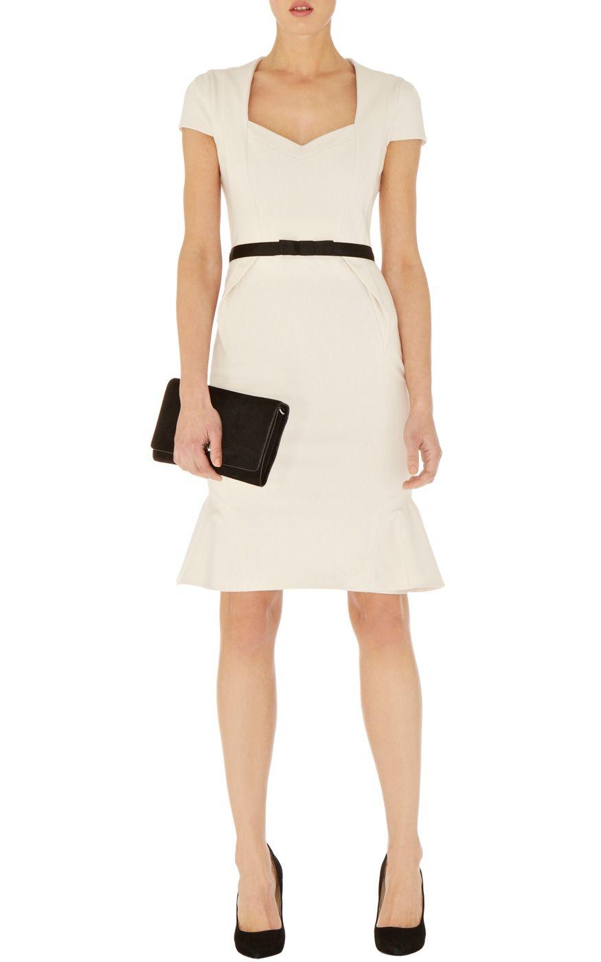 Kleider | Strukturiertes Jerseykleid | Damenmode | Karen Millen