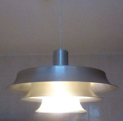 Vintage 60s Danish Light Pendant Lamp Fog Morup Panton Poulsen Lyfa Retro | eBay