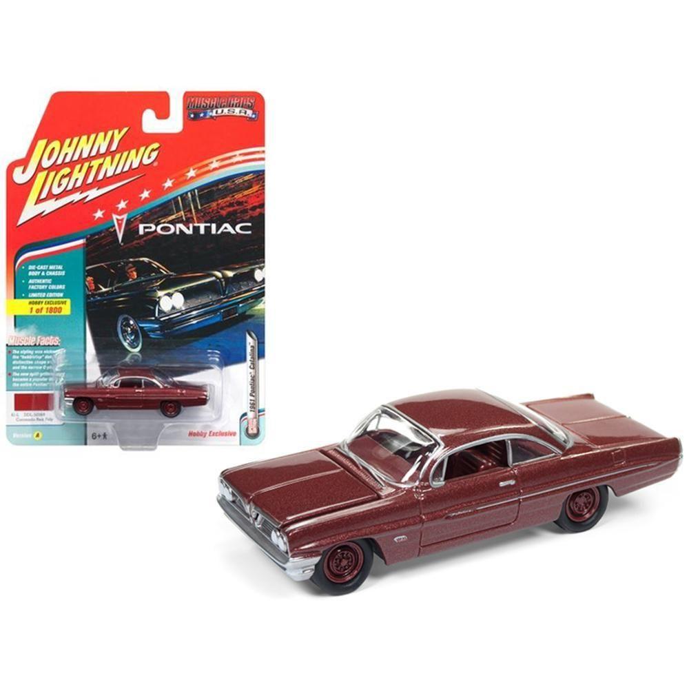 1961 Pontiac Catalina Coronado Red Poly Limited Edition to 1800pc ...