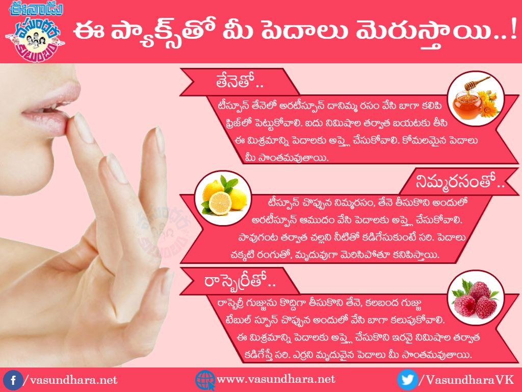 Natural Homemade Lip Packs Recipes for this Winter మరిన్ని