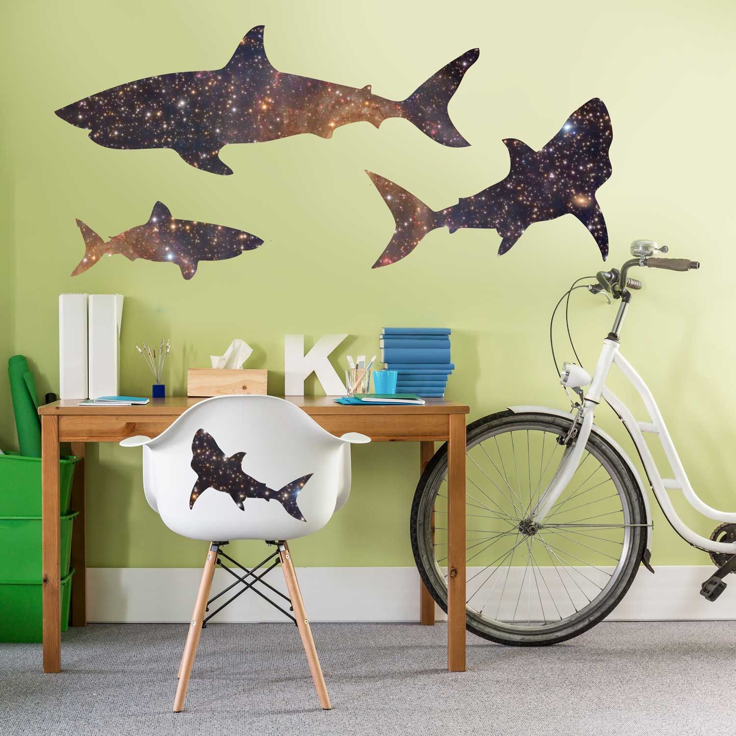 Shark Wall Decor Images - home design wall stickers