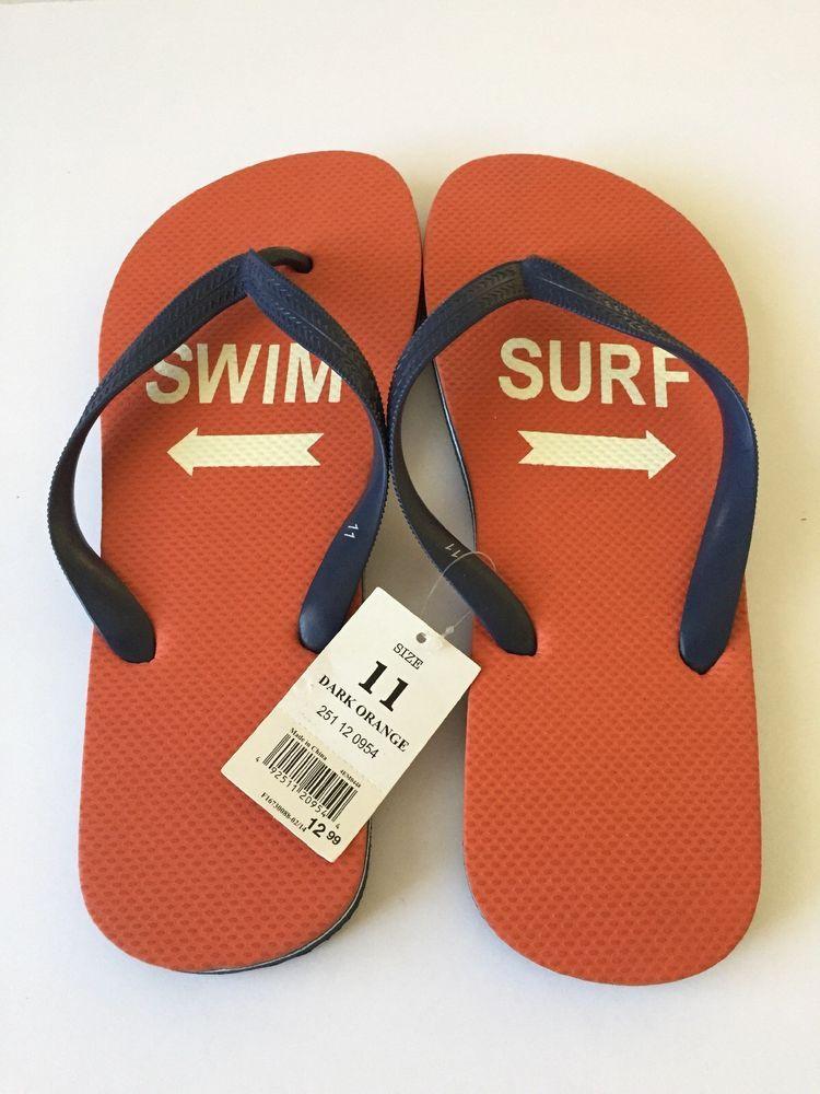 78c3fa00d5d9 Mossimo Men s Flip Flop Sandals - Art by Jeff Canham - Swim   Surf Design