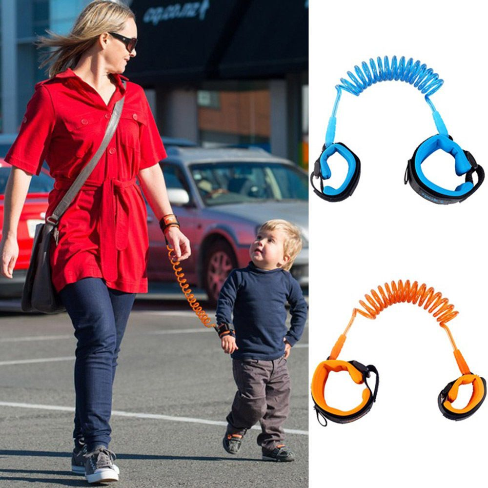 Toddler Kids Baby Safety Walking Harness Anti-lost Strap Wrist Leash Hand Belt