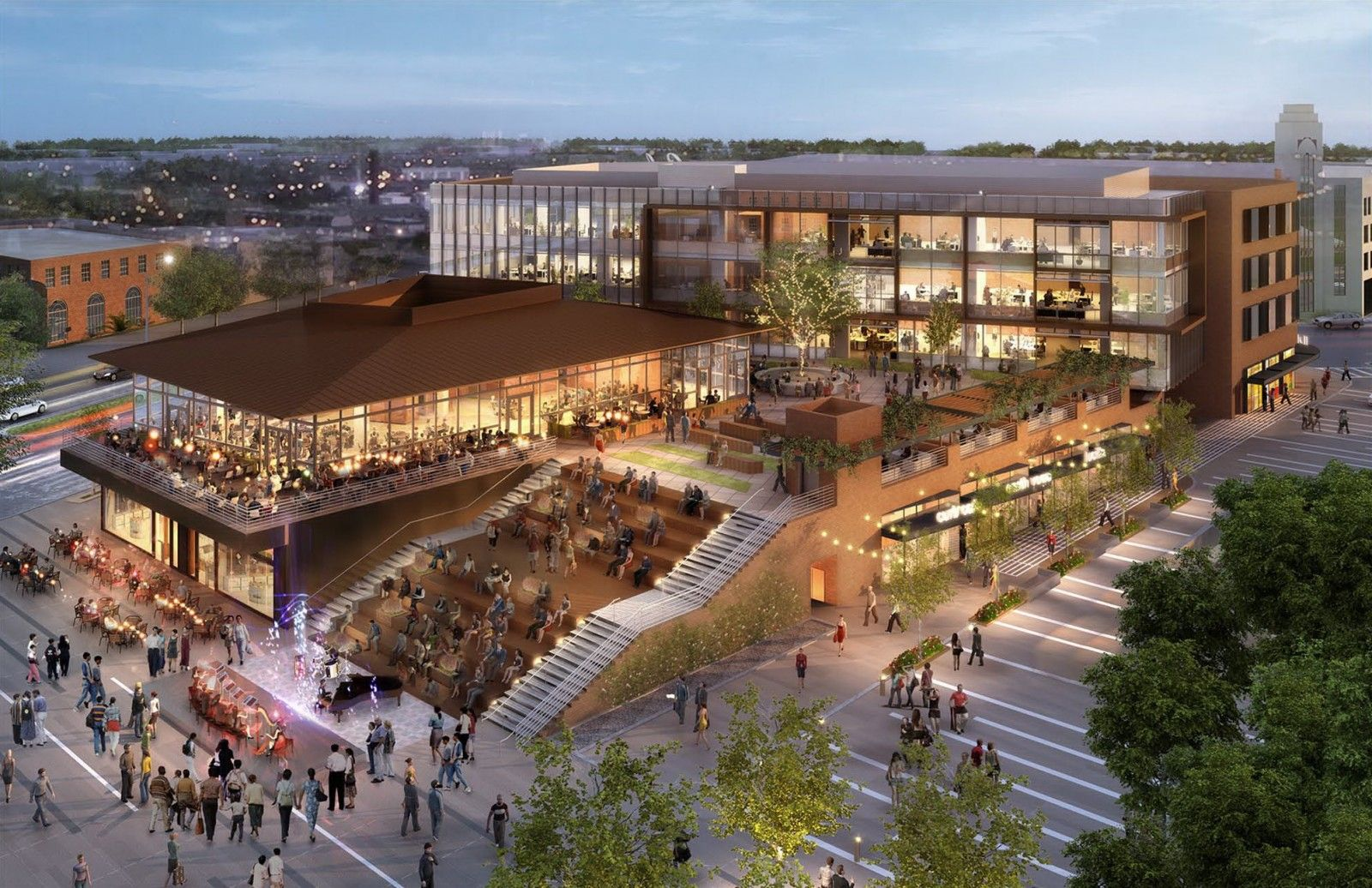 Image result for URBAN RETAIL PLAZA   5 POINTS   Plaza ...