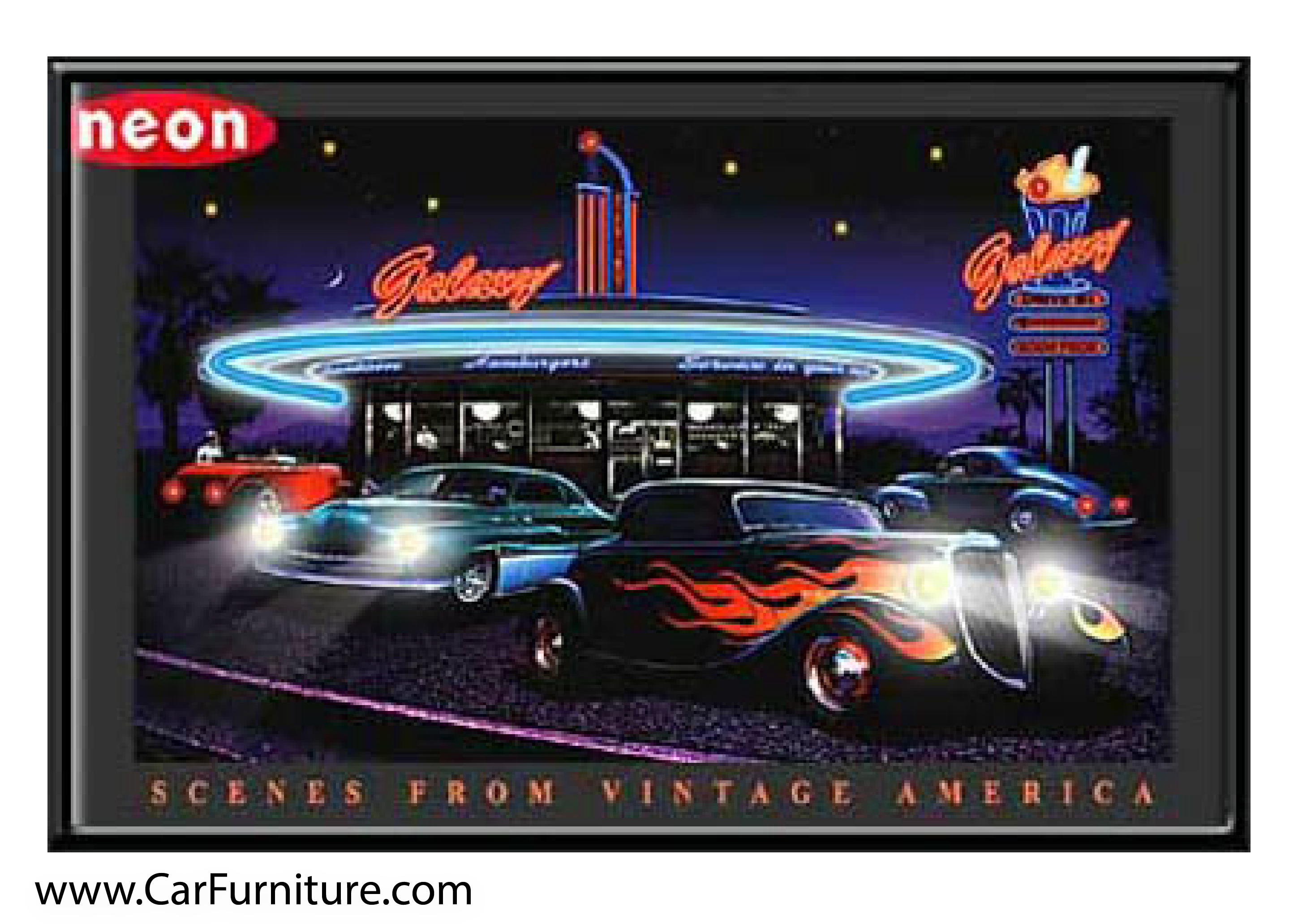 Wall art. Reproduction motor oil  advert poster Motor Rythm