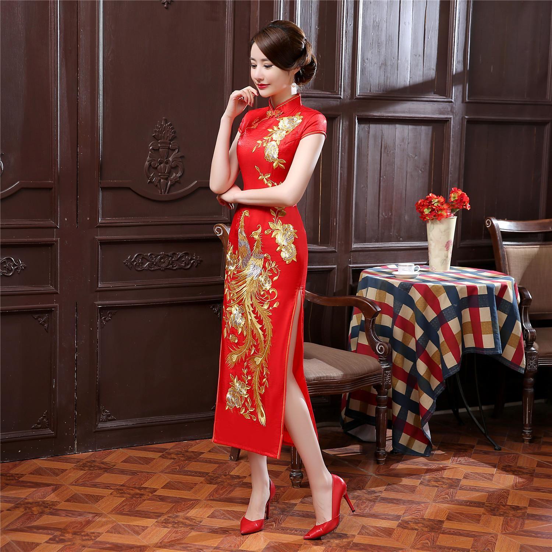 Image Associee Chinese Style Dress Chinese Dress Silk Dress Long [ 1500 x 1500 Pixel ]